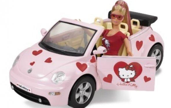 Кукла Штеффи с машиной