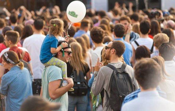 День молодежи 2015 в парках