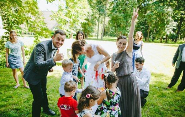 Детское развлечения на свадьбе