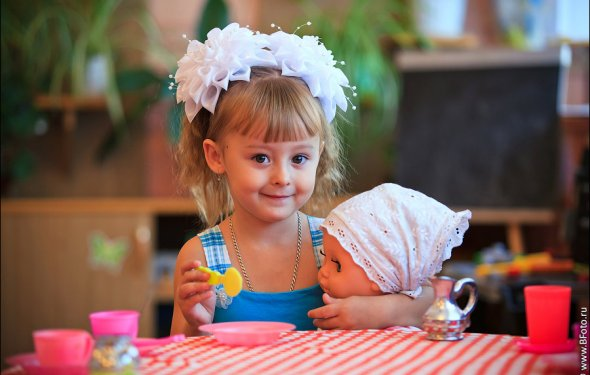 Подарок для трехлетней девочки