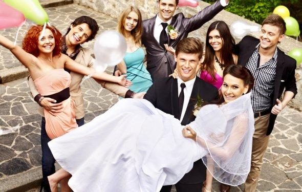 Конкурсы и развлечения на свадьбах 80